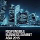 Responsible Business Summit Asia 2015