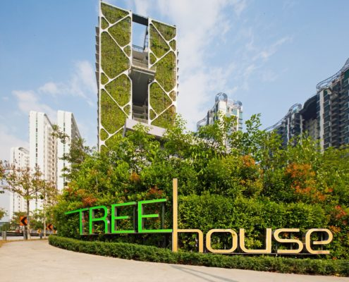 CDL Tree House sustainability