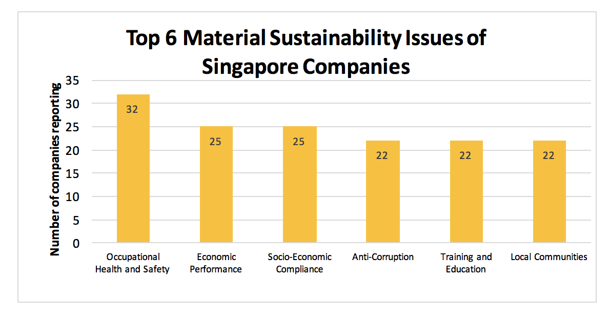 Top 6 Materiality Sustainability Issues