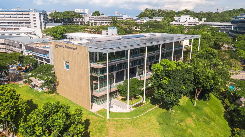SDE4 building on NUS Kent Ridge campus